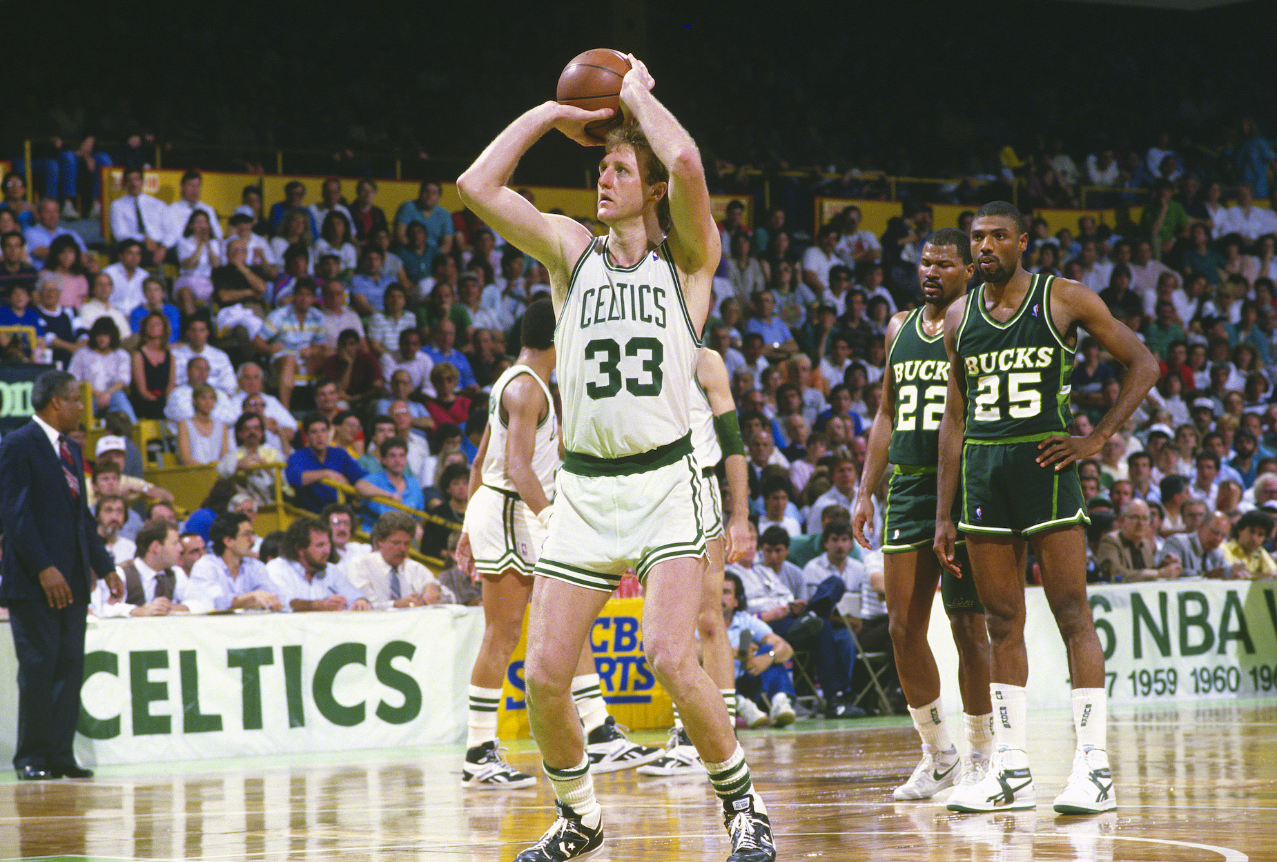 Even at the height of his success with the Boston Celtics, Larry Bird never forgot what it felt like to grow up poor.