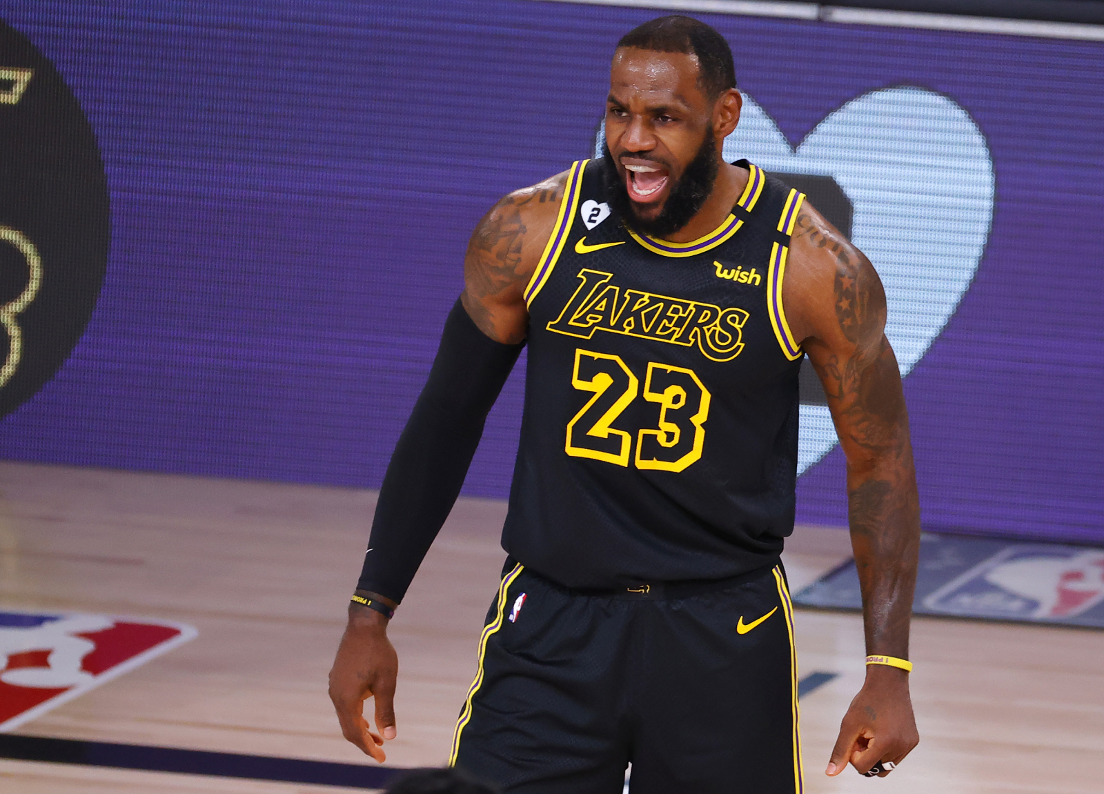 LeBron James has been unstoppable for the Lakers in his most recent playoff games. In fact, his former teammates are in awe of him.