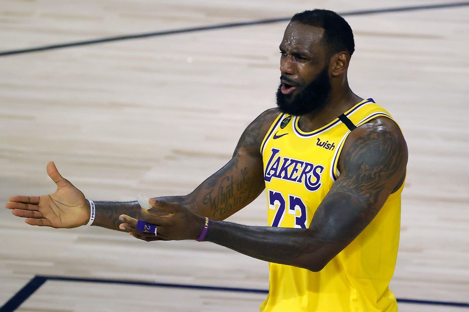 LeBron James Charles Barkley Lakers NBA Playoffs