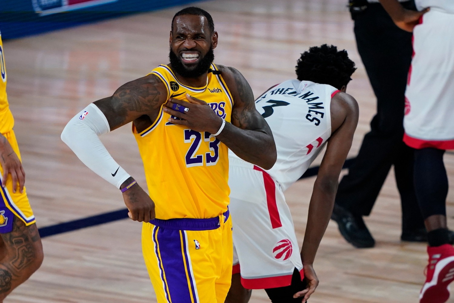 "LeBron James will try to lead the Lakers to a title during a 2020 NBA playoffs that will be his ""toughest championship run."""