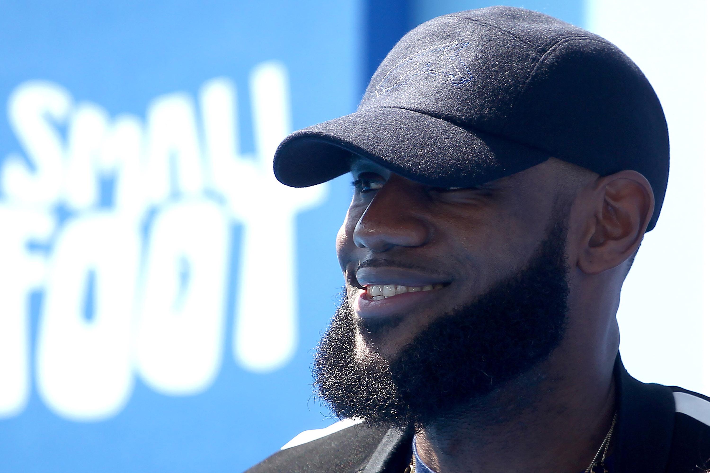 NBA player LeBron James