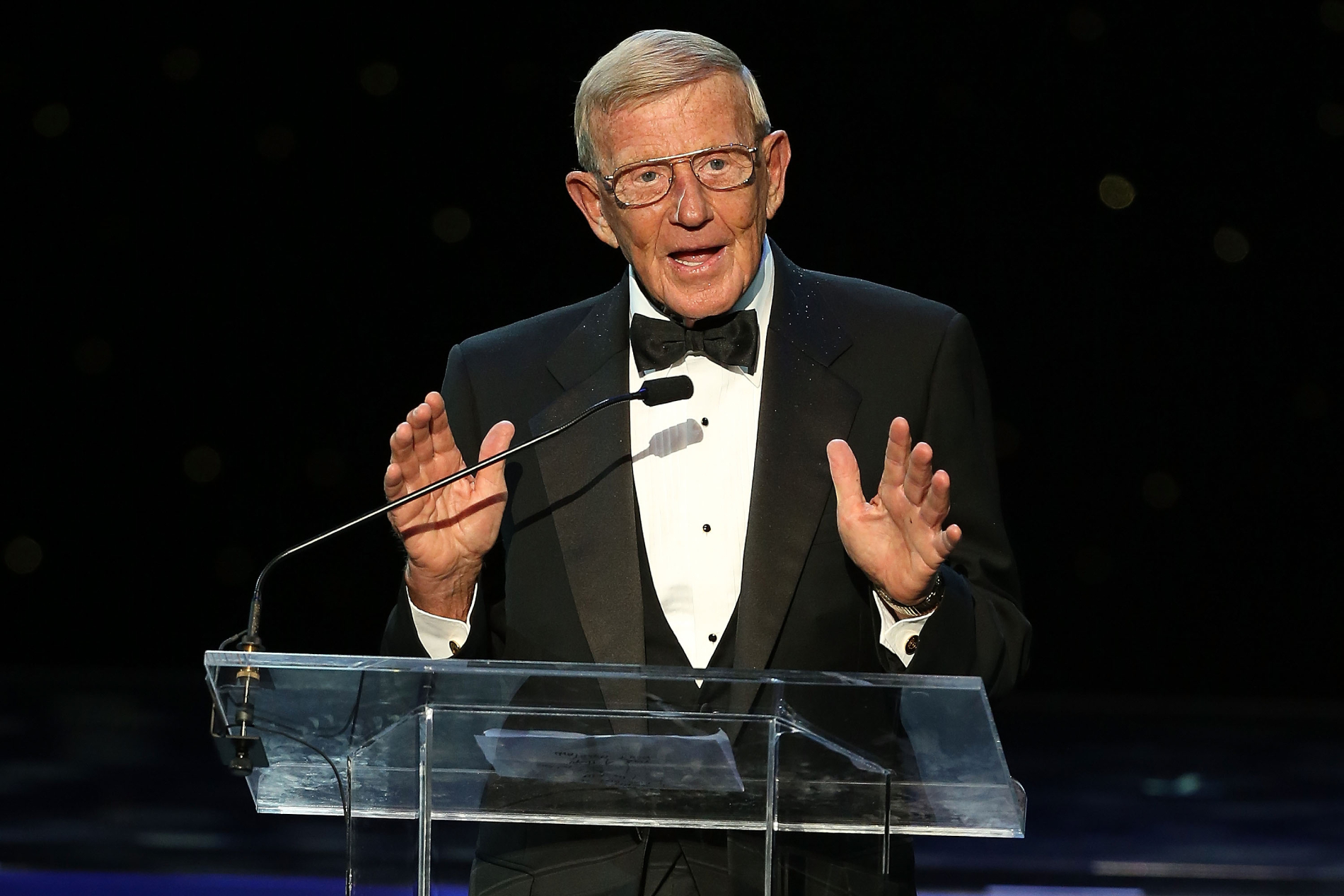 Lou Holtz has made plenty of controversial comments over the years, but his success as a coach and at ESPN helped him become pretty wealthy.