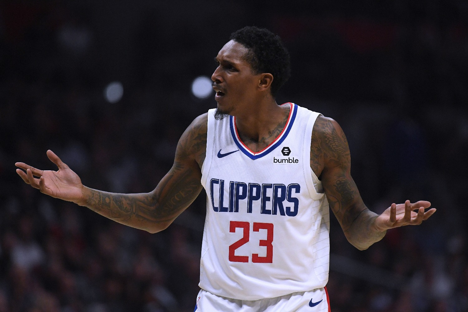 Lou Williams apparently had more than wings at Magic City according to one of the establishment's dancers.