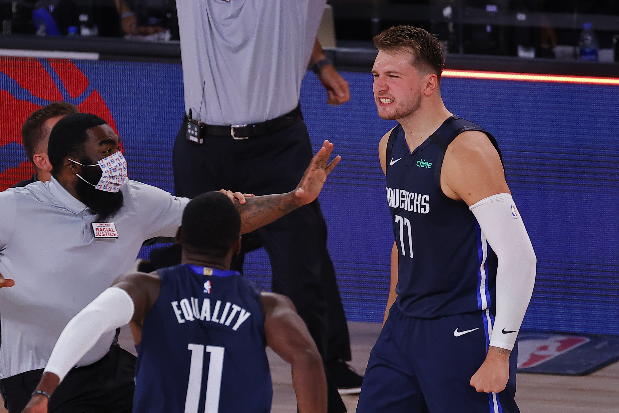 Luka Doncic's Mother Highlights List of Reactions to Son's Wild Game-Winning Shot