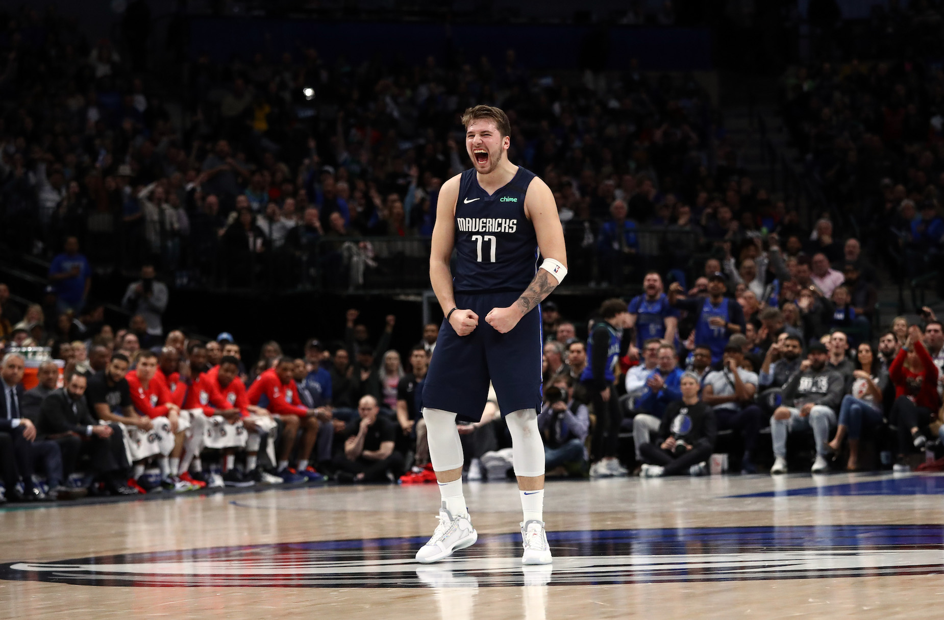 Luka Doncic was compared to a blend of Jason Kidd and Larry Bird by Clippers coach Doc Rivers.