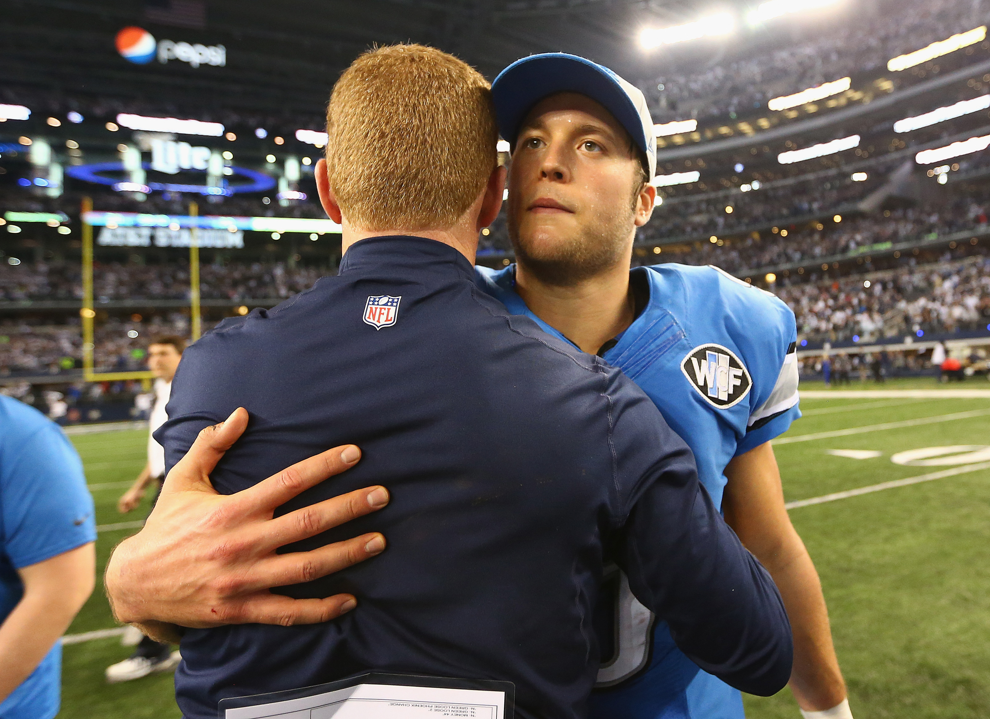 Matt Ryan and Matthew Stafford