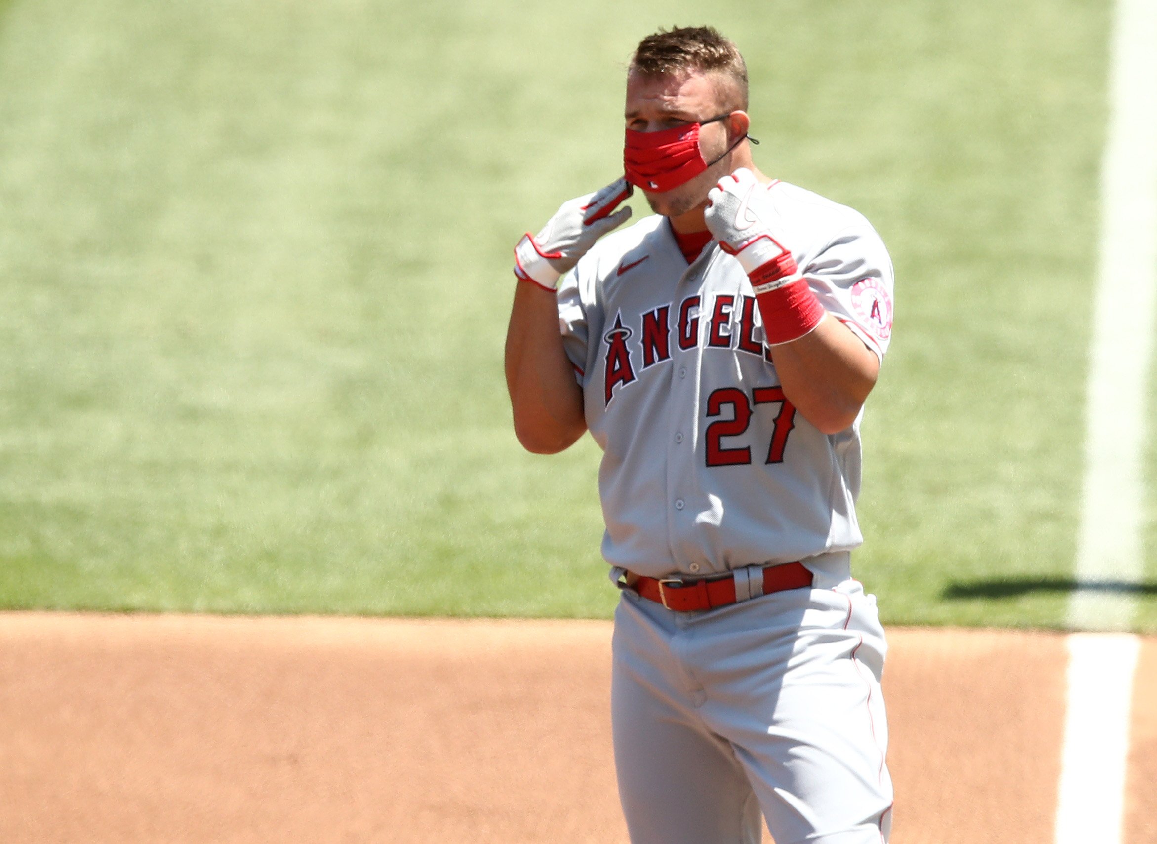 Los Angeles Angels star outfielder Mike Trout debuted in the majors at age 19. Was Trout the youngest player in MLB history.