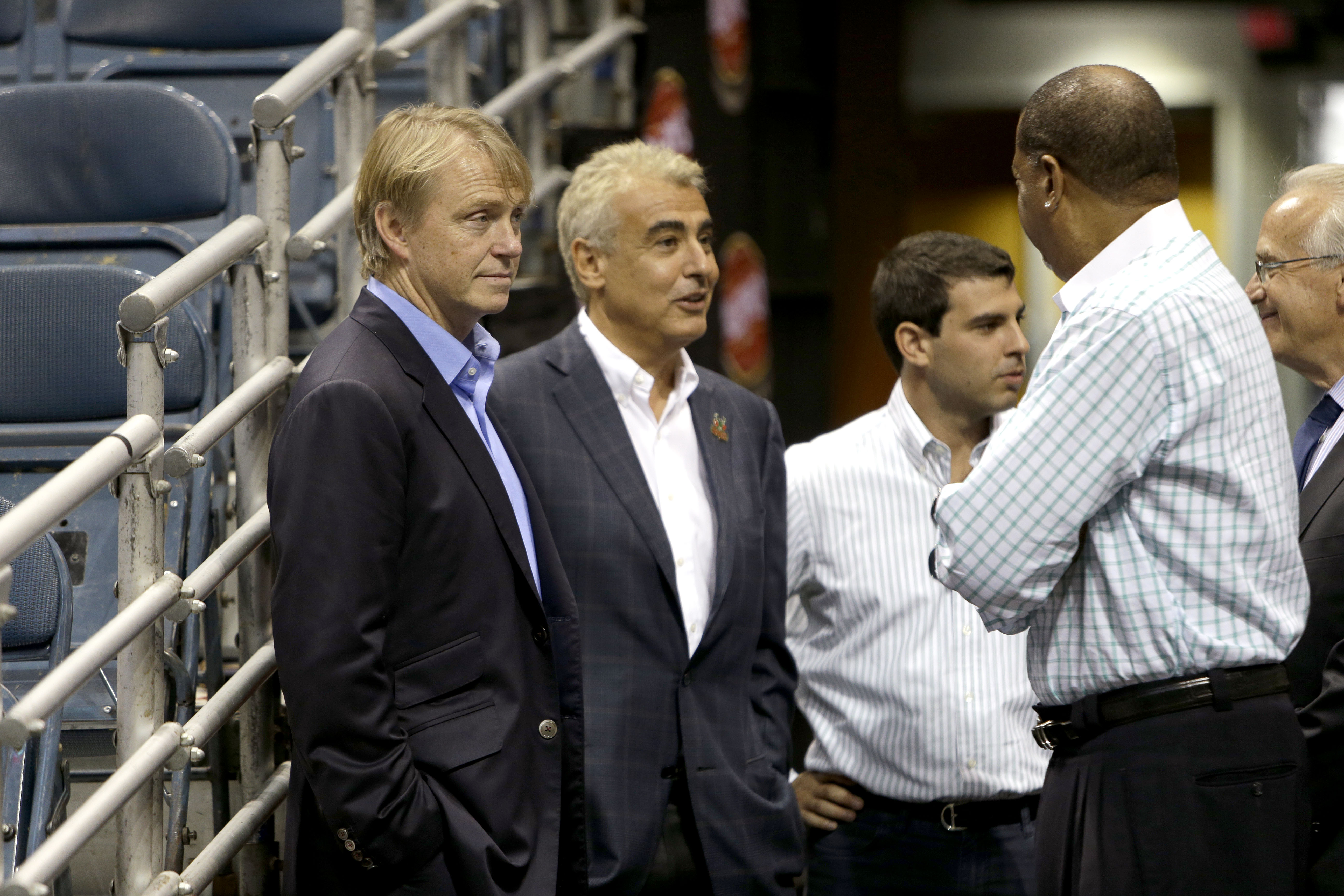 Bucks owners Wesley Edens and Marc Lasry