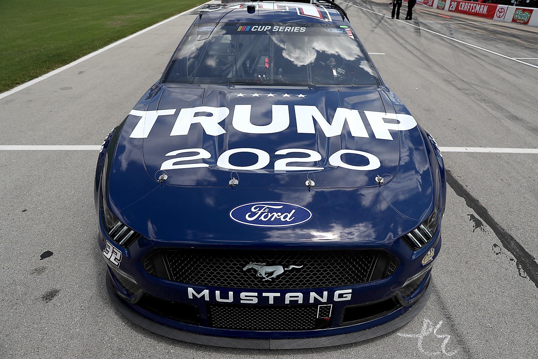 Trump 2020 NASCAR No. 32 Ford Mustang