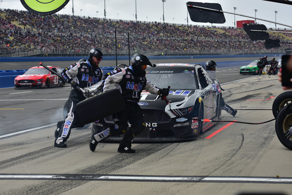 Pit crew for NASCAR