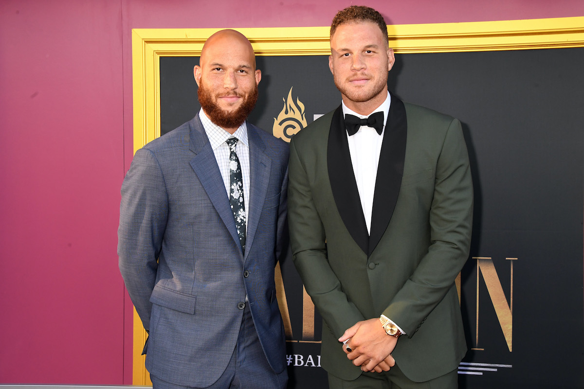 NBA players Blake Griffin and Taylor Griffin