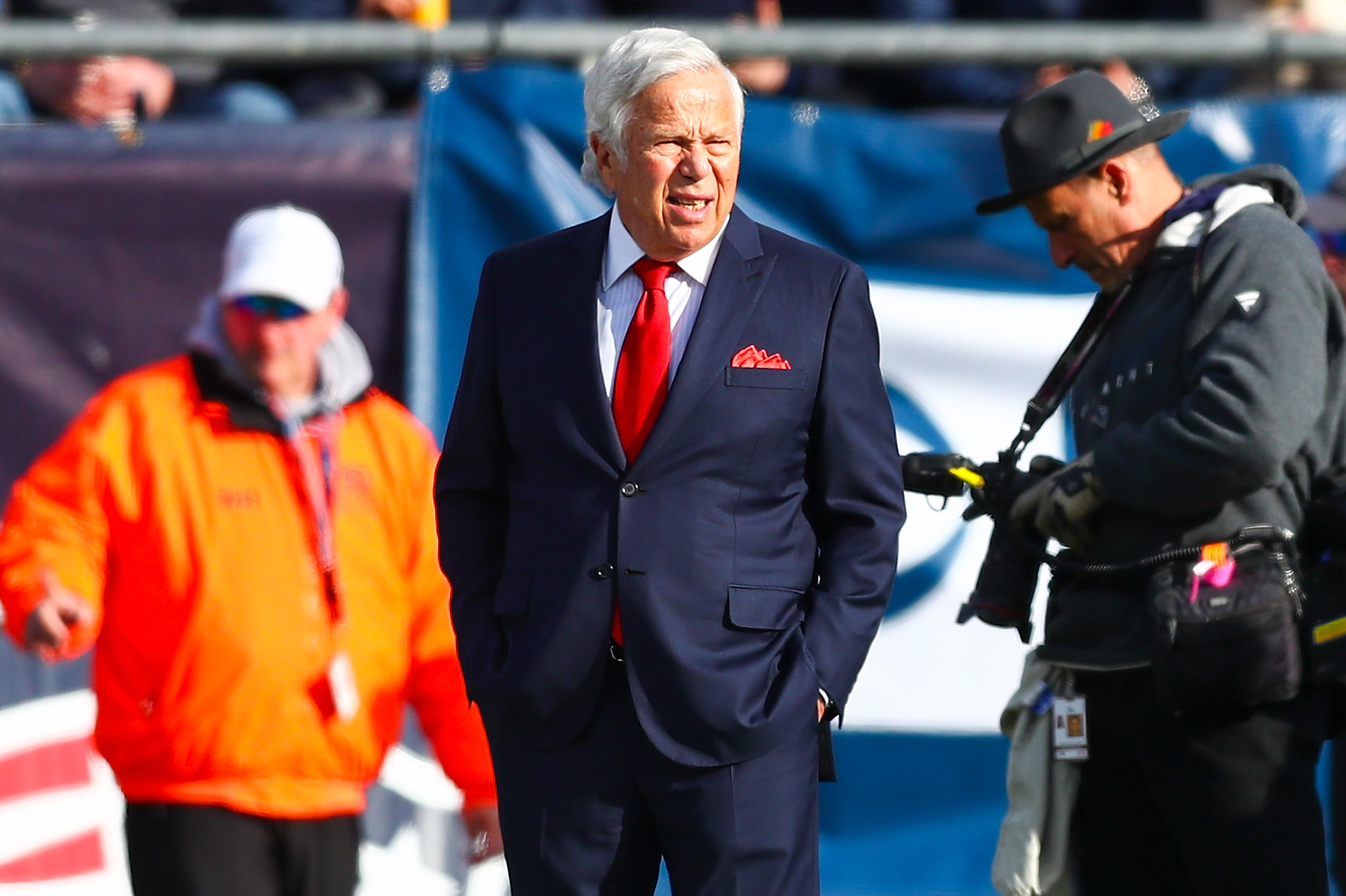 Patriots Owner Robert Kraft