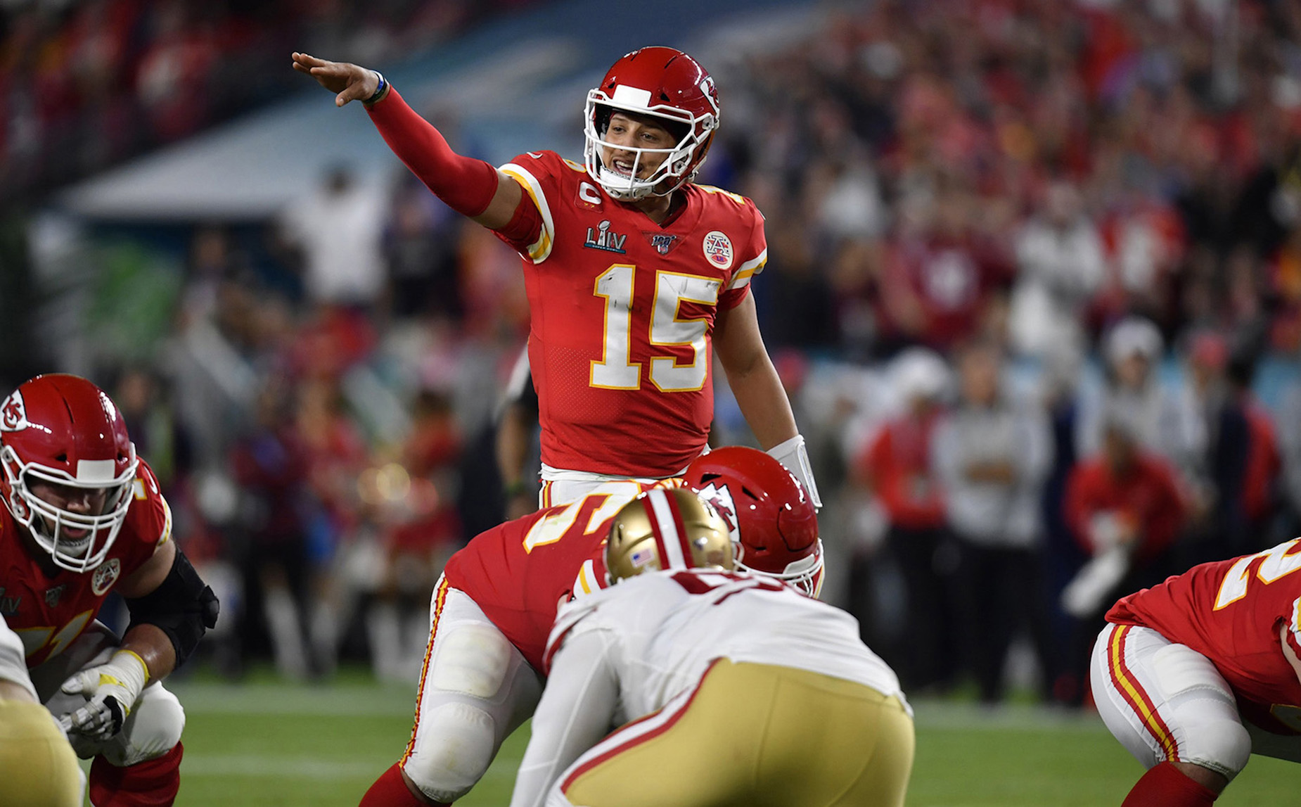 Patrick Mahomes will be following in Colin Kaepernick's footsteps and using his celebrity status for the greater good.