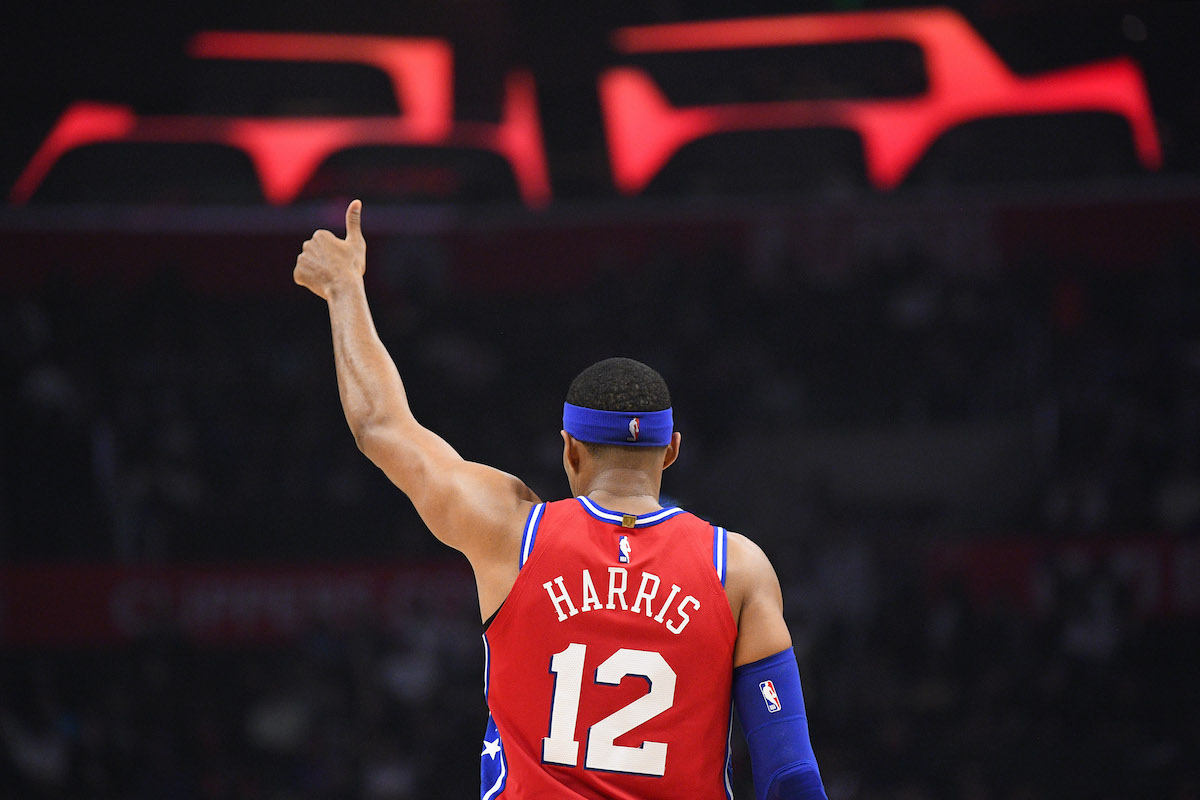 76ers forward Tobias Harris
