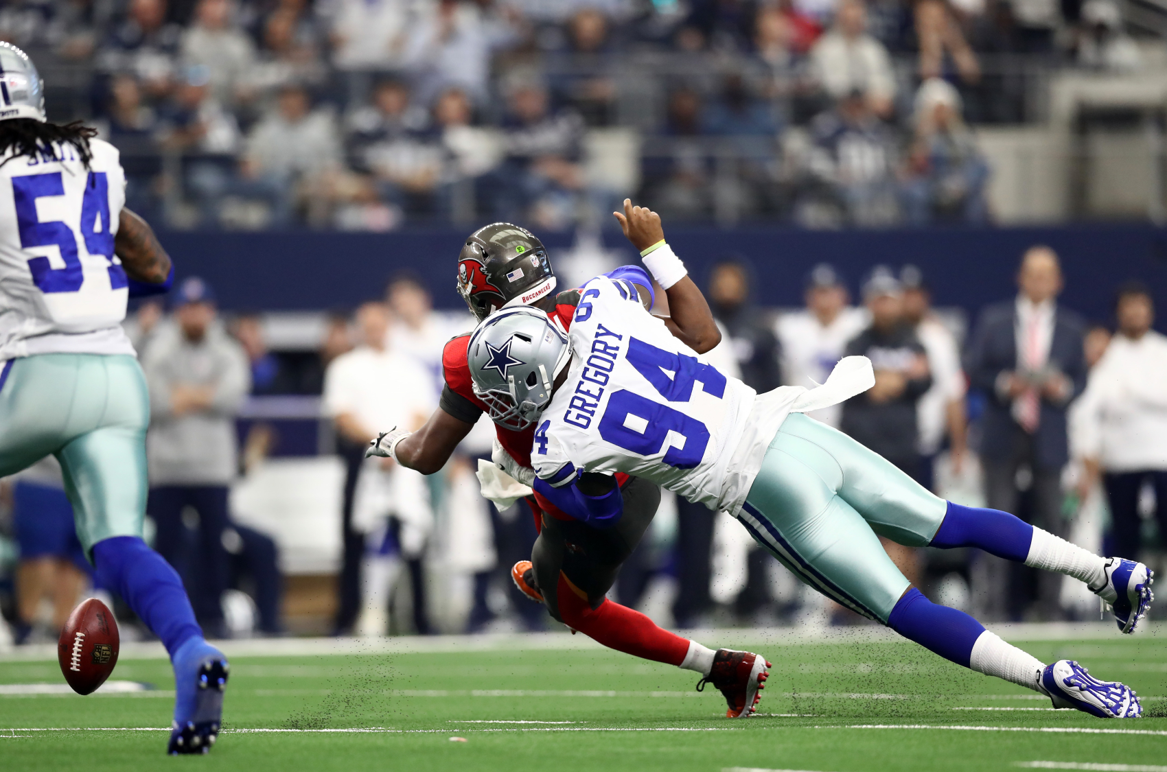 Dallas Cowboys pass rusher Randy Gregory has not played since the 2018 season. He now, however, has hopes of getting reinstated.