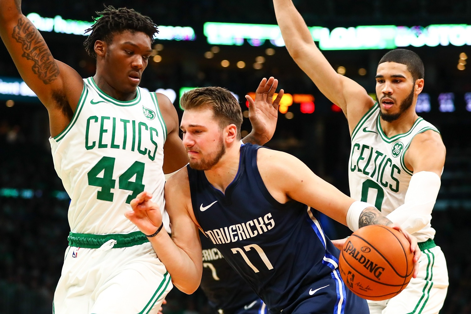 Jayson Tatum and Jaylen Brown are already stars, but the Boston Celtics have another budding star in 22-year-old center Robert Williams.