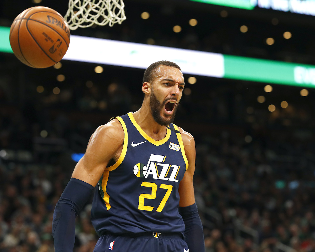 The Jazz's Rudy Gobert