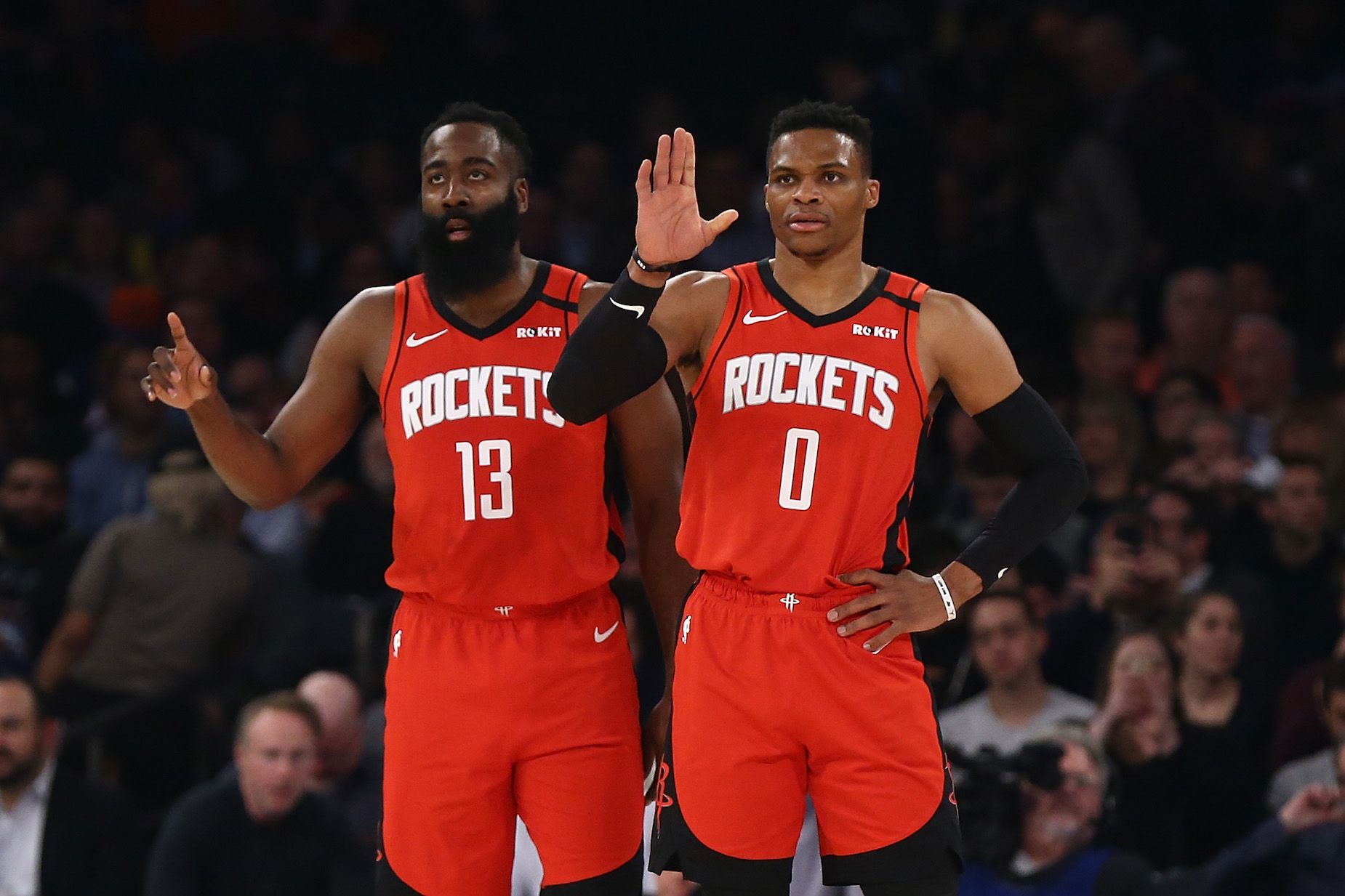 James Harden and Russell Westbrook are teammates and friends, but which one has made more money in the NBA?