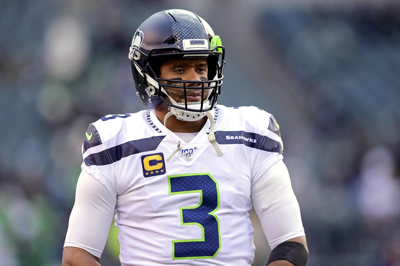 Russell Wilson Seahawks NFL