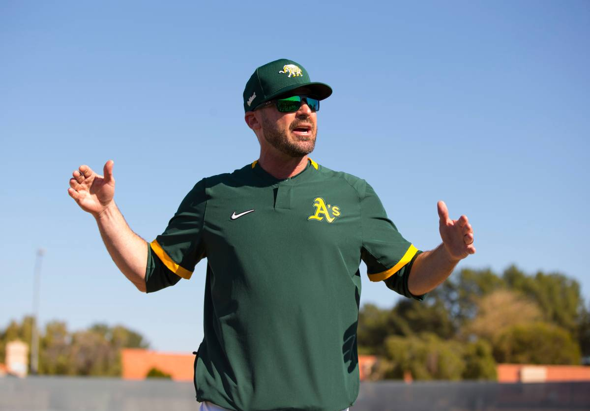 Oakland Athletics coach Ryan Christenson flashed Nazi gestures on live television.