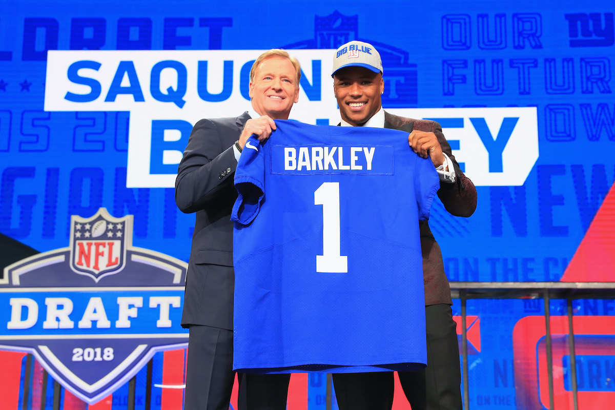 2018 NFL Draft - Saquon Barkley