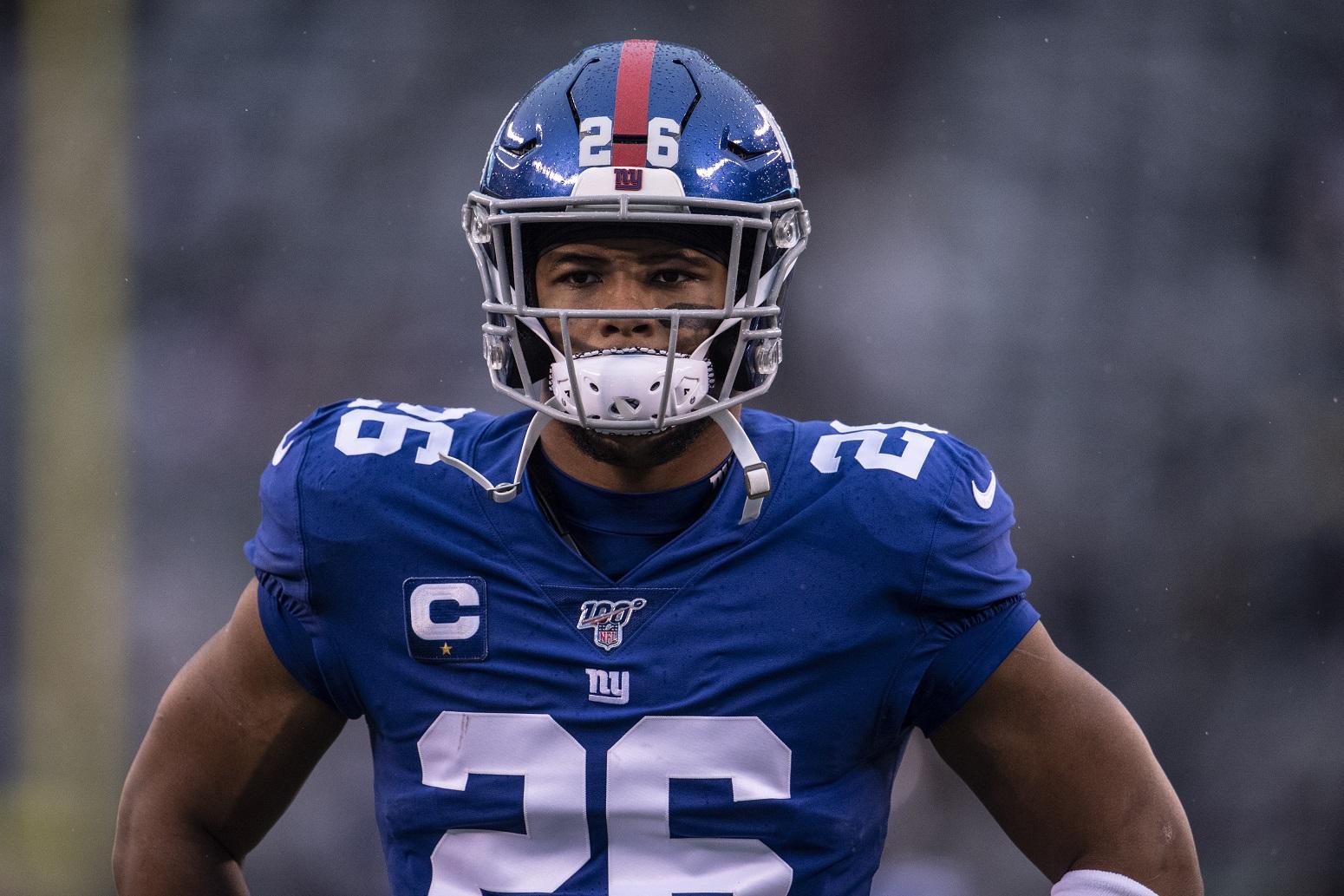 Saquon Barkley Giants 2020 season