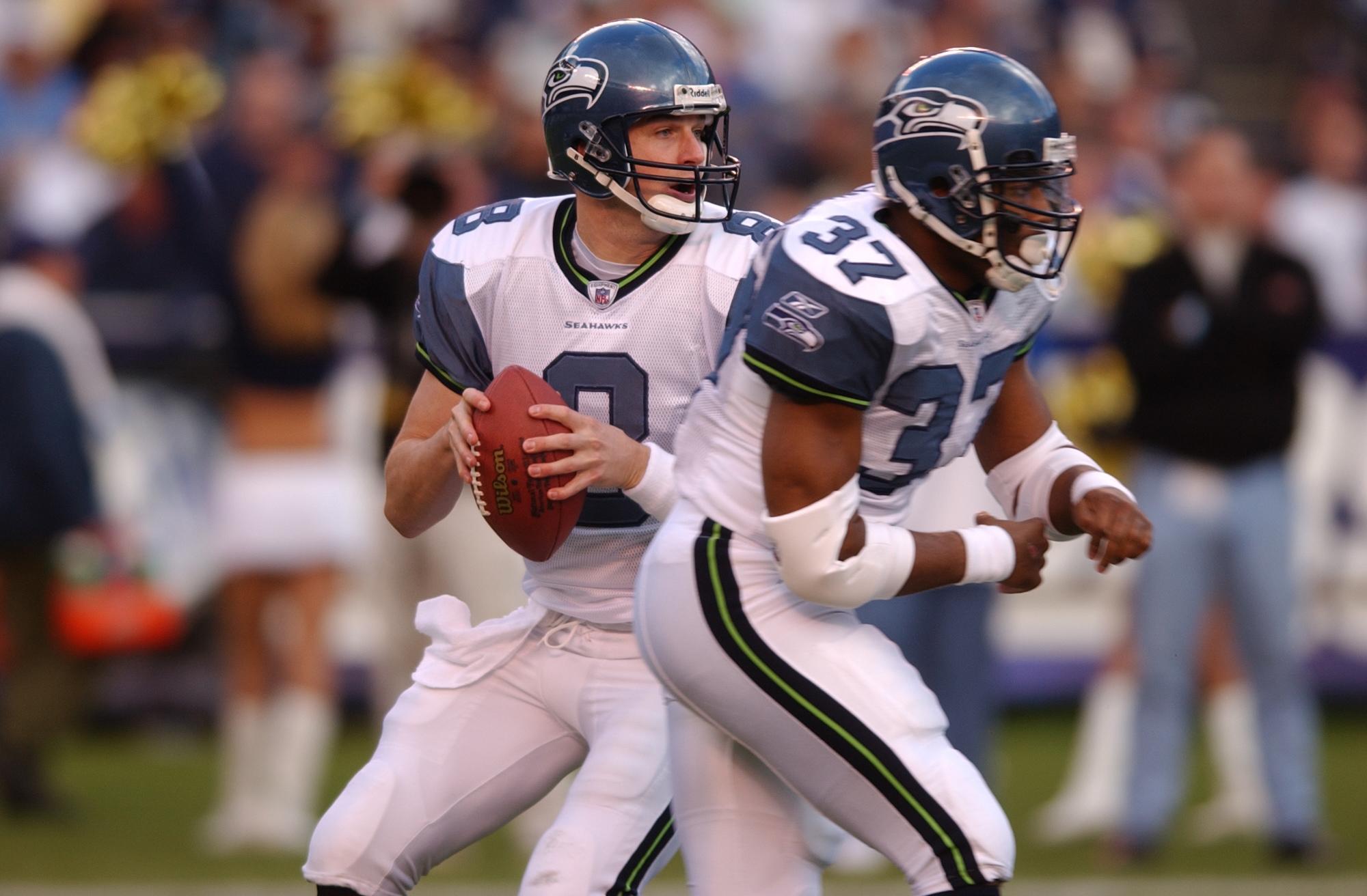 Seahawks quarterback Matt Hasselbeck