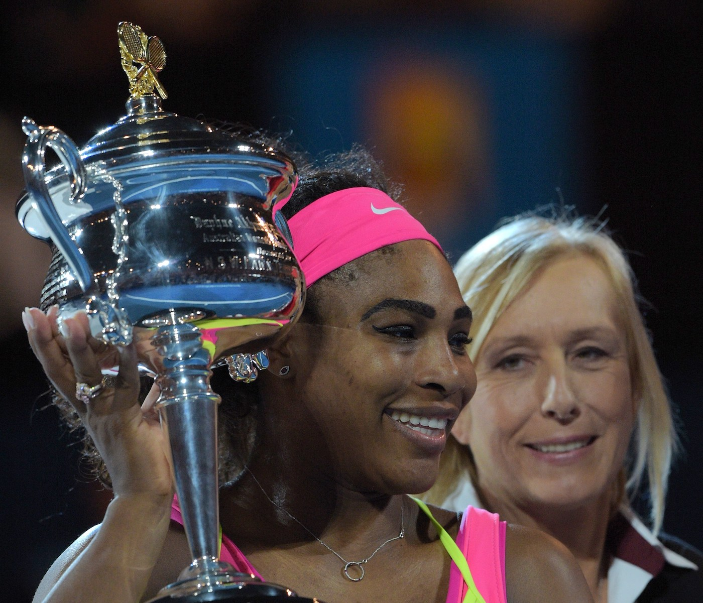 Serena Williams is one of the greatest women's tennis players ever, but Martina Navratilova contests Williams' status as the greatest of all time.