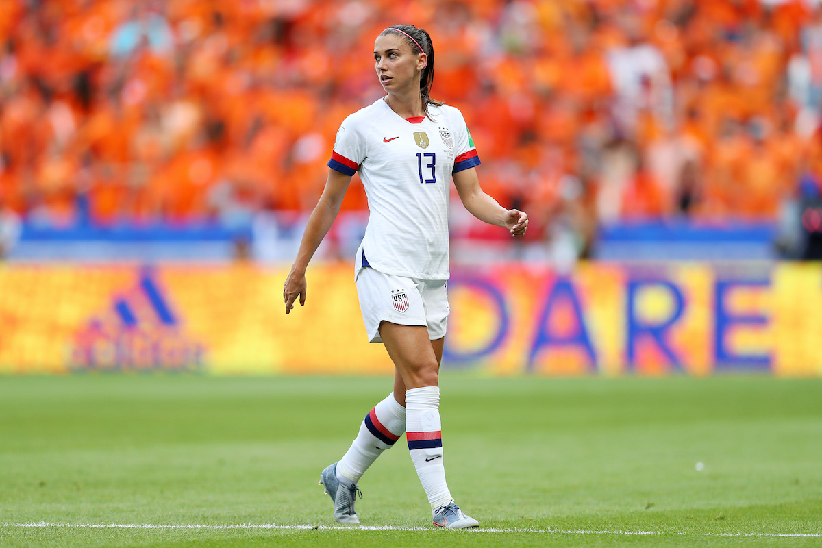Alex Morgan in 2019