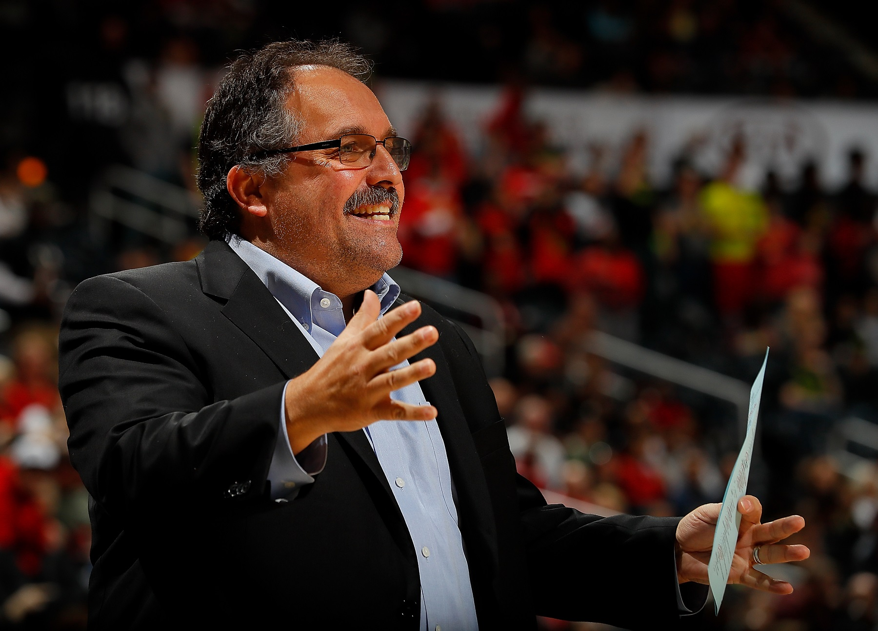 TNT's Stan Van Gundy Throws Cold Water on Chris Broussard's Hot Take
