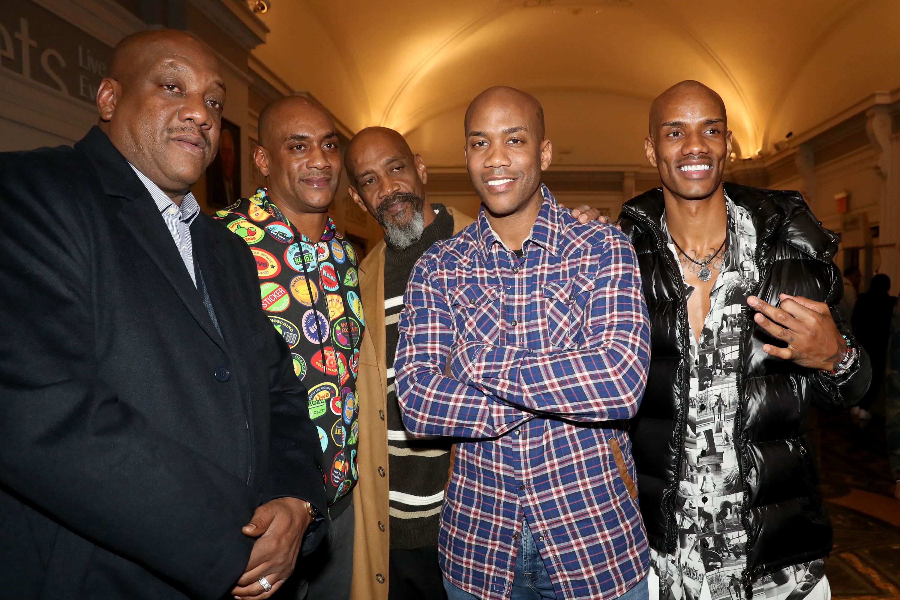 The Marbury brothers including Stephon Marbury