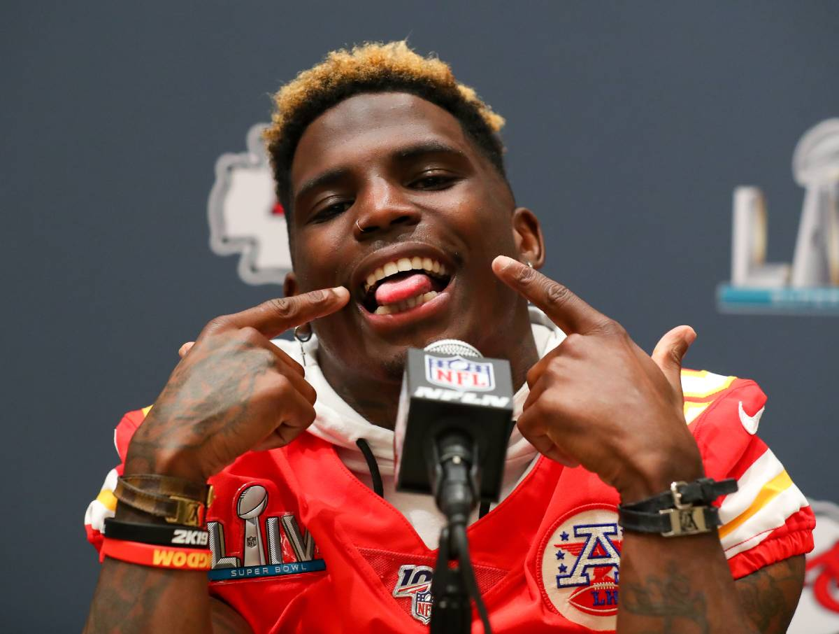 Kansas City Chiefs receiver Tyreek Hill's nickname is 'Cheetah.' But where did the nickname come from?