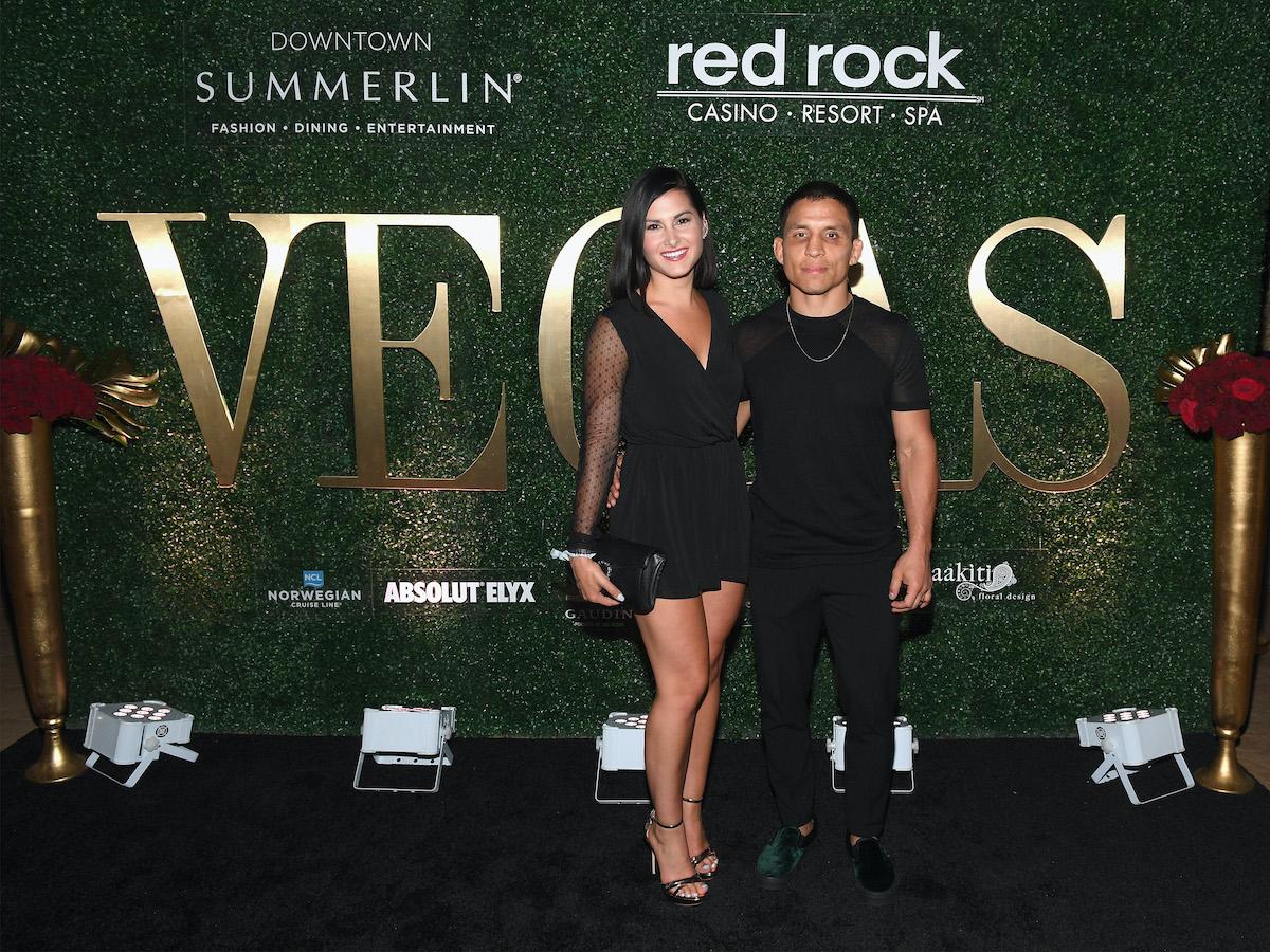 UFC fighter Joseph Benavidez and wife Megan Olivi