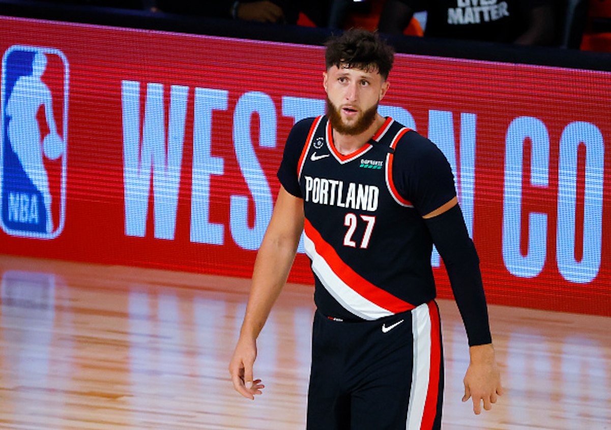 Jusuf Nurkic Helped the Trail Blazers win the Play-In Game Despite Dealing With the Passing of His Grandmother
