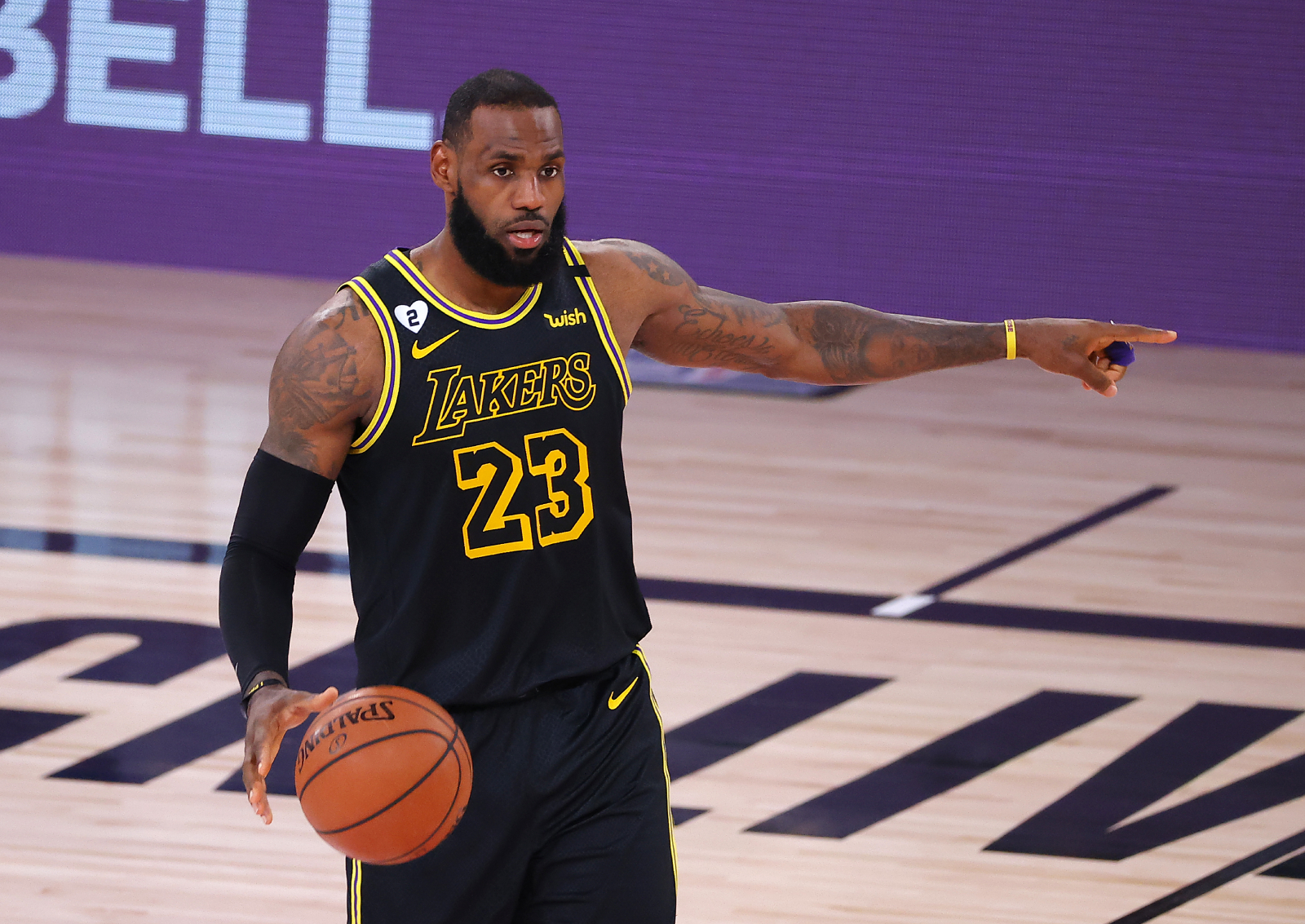 LeBron James has always dealt with critics. Now, as he and the Lakers try to get to the Finals, he has a brutally honest message about them.
