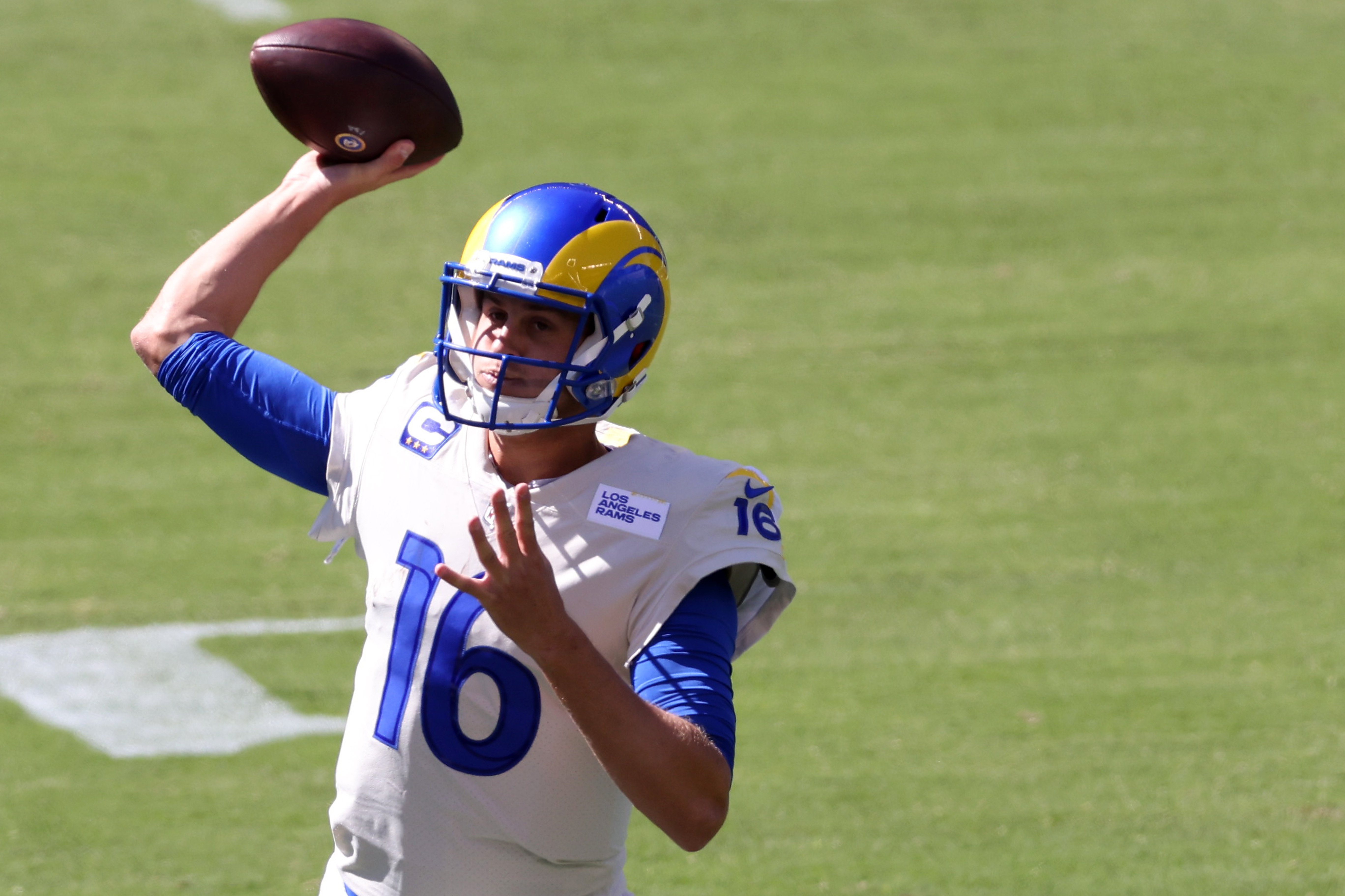 Los Angeles Rams quarterback Jared Goff is silencing his doubters with a strong start to the 2020 season.