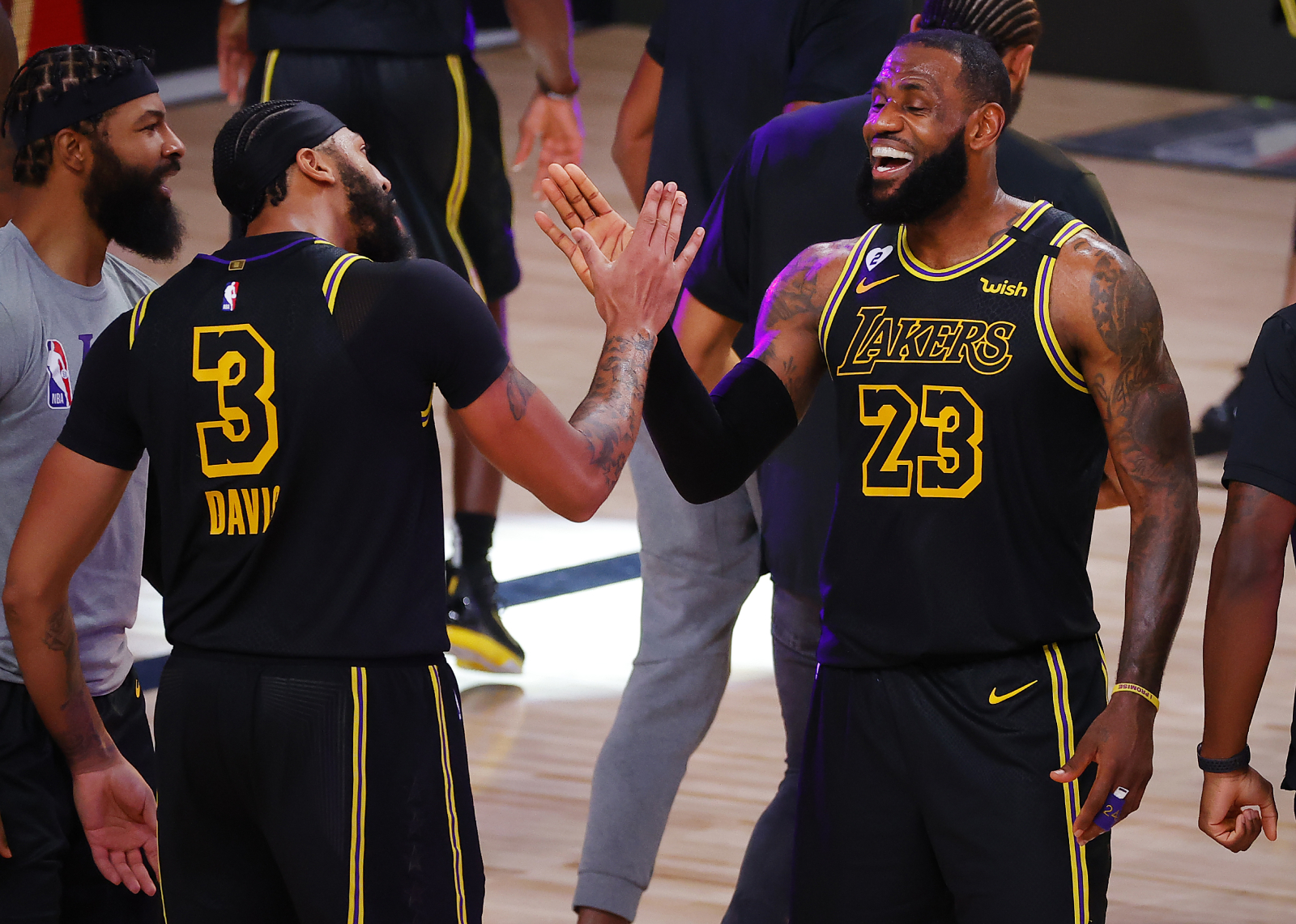 LeBron James has played well with all his Lakers teammates. However, he has had great chemistry with a teammate that isn't Anthony Davis.