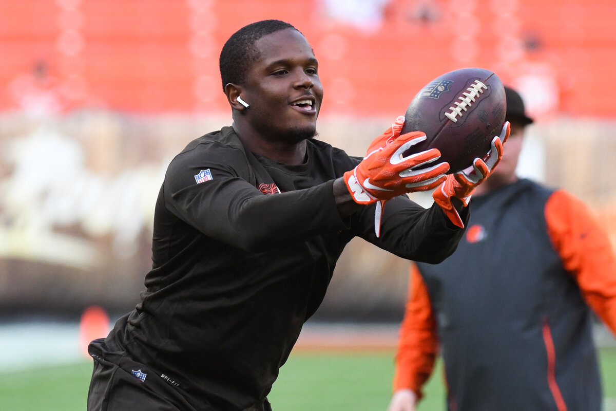 Former Cleveland Browns receiver Antonio Callaway could complete an impressive comeback with the Miami Dolphins later this year.