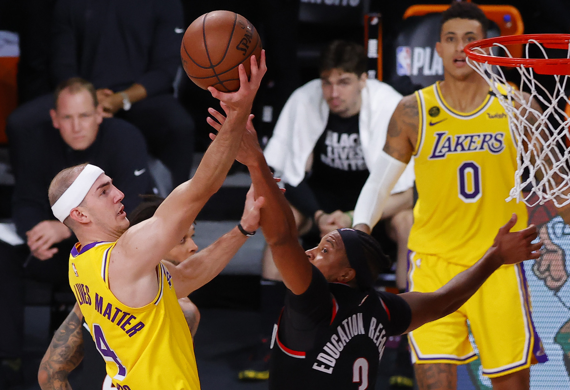 Lakers guard Alex Caruso is more than a fan favorite; he's a surprisingly good player.