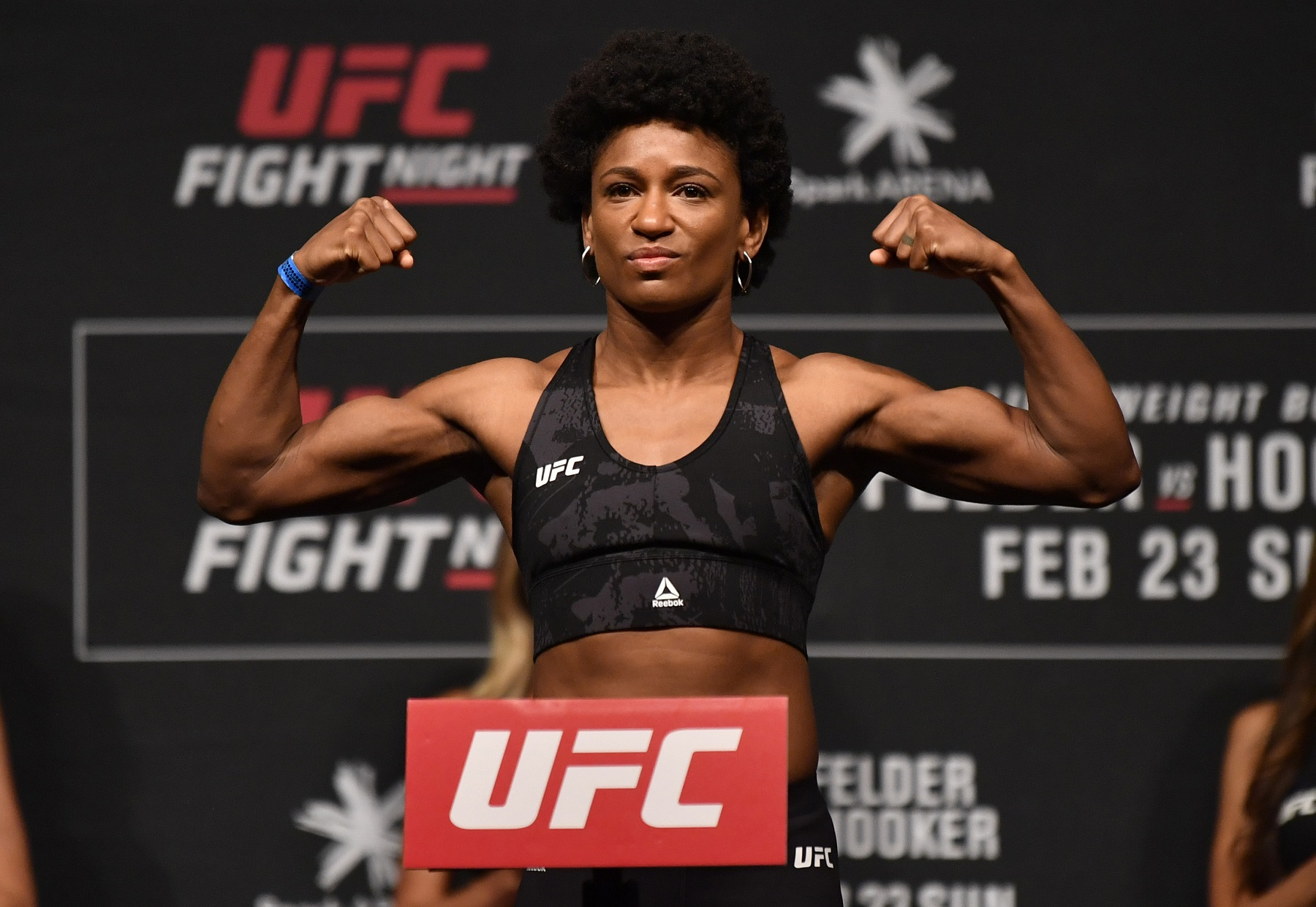UFC fighter Angela Hill