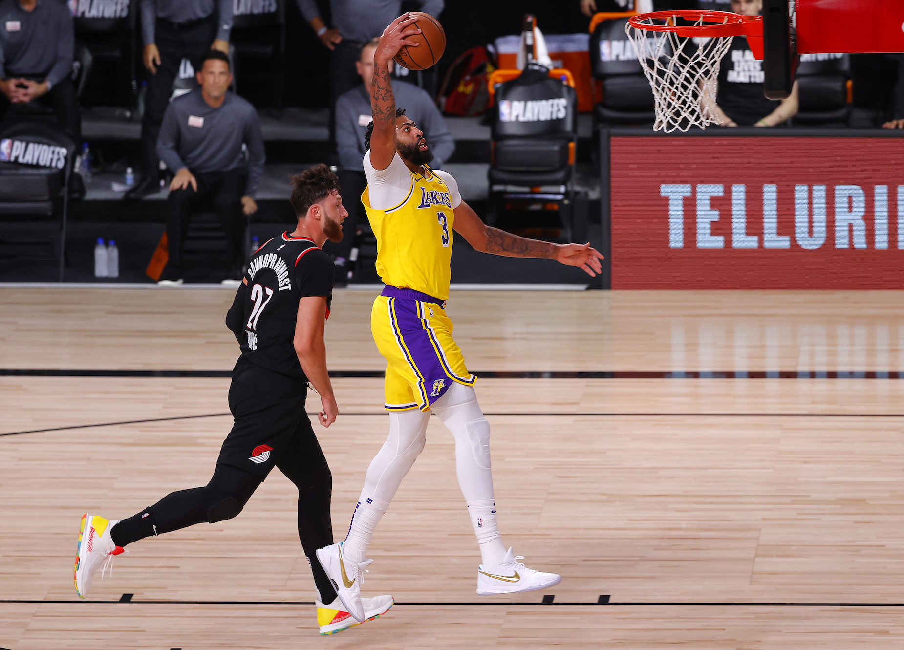 Lakers star Anthony Davis has aready accomplished a childhood dream on two separate occasions.