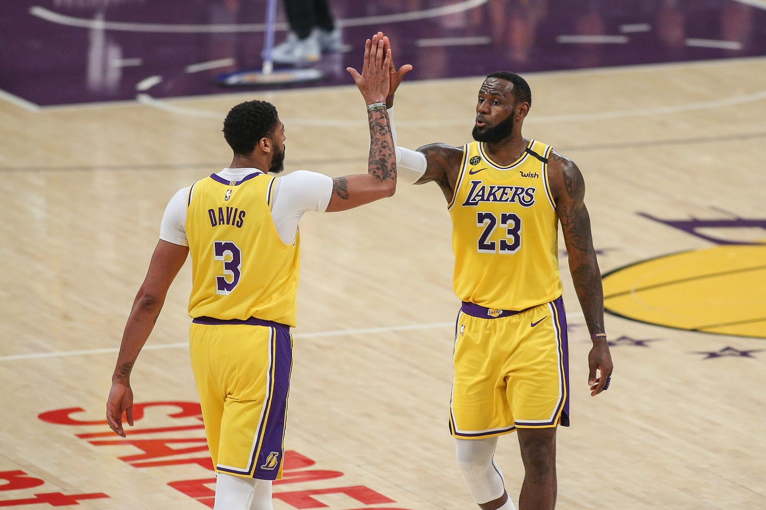 Anthony Davis LeBron James Lakers perfect fit