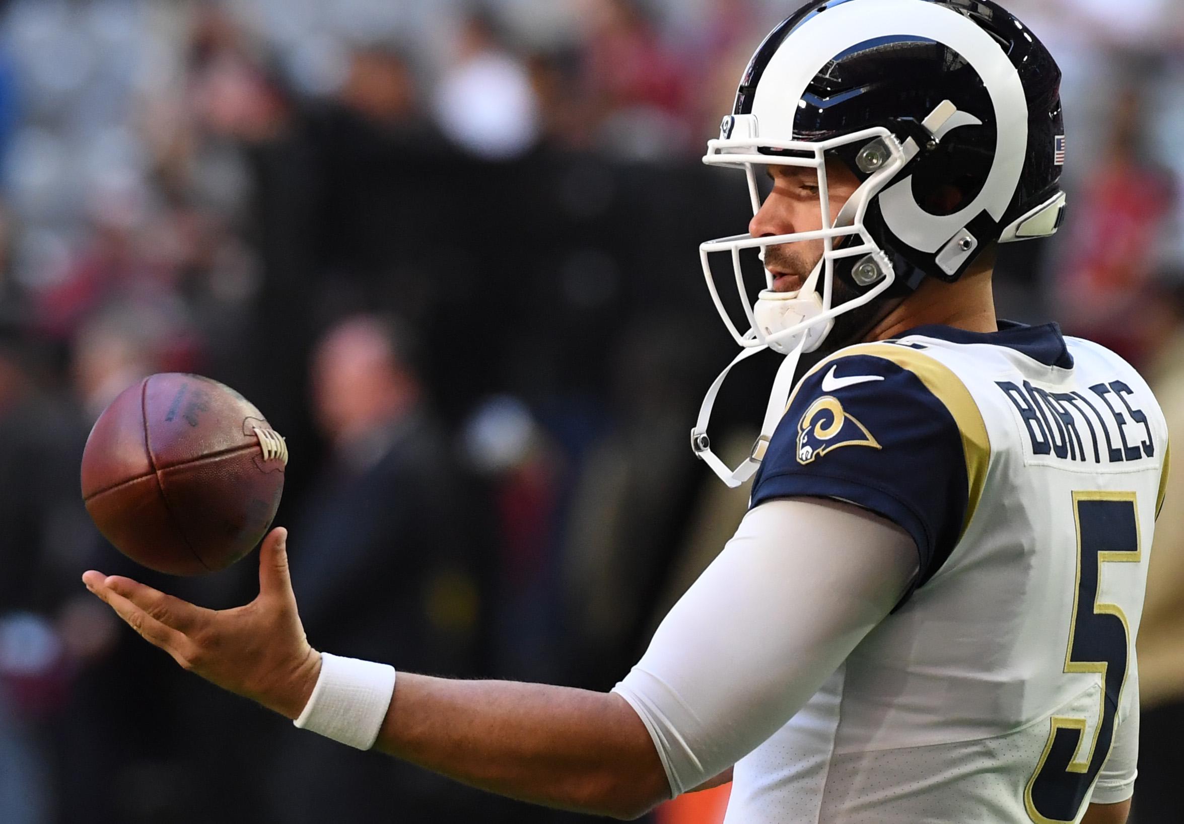 Denver Broncos quarterback Blake Bortles, seen with the Jacksonville Jaguars last year, is something of a Beyonce fan, put lightly.