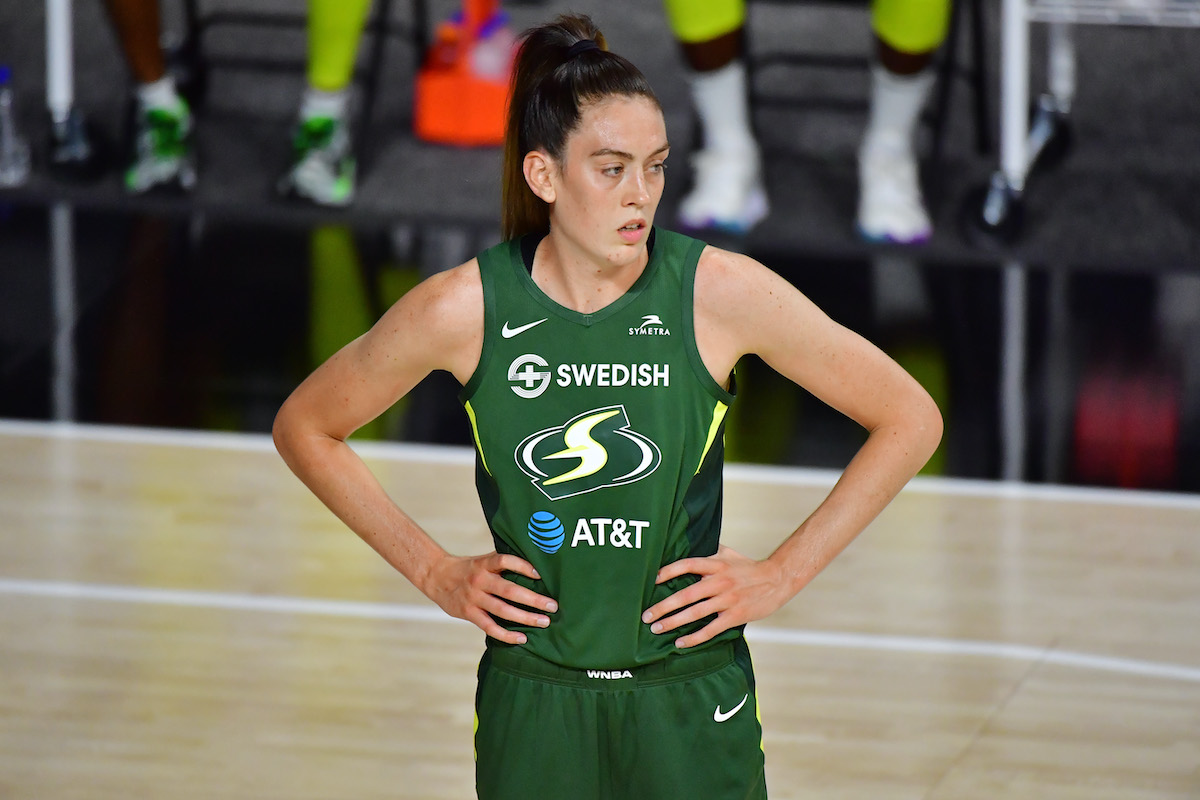 Seattle Storm's Breanna Stewart