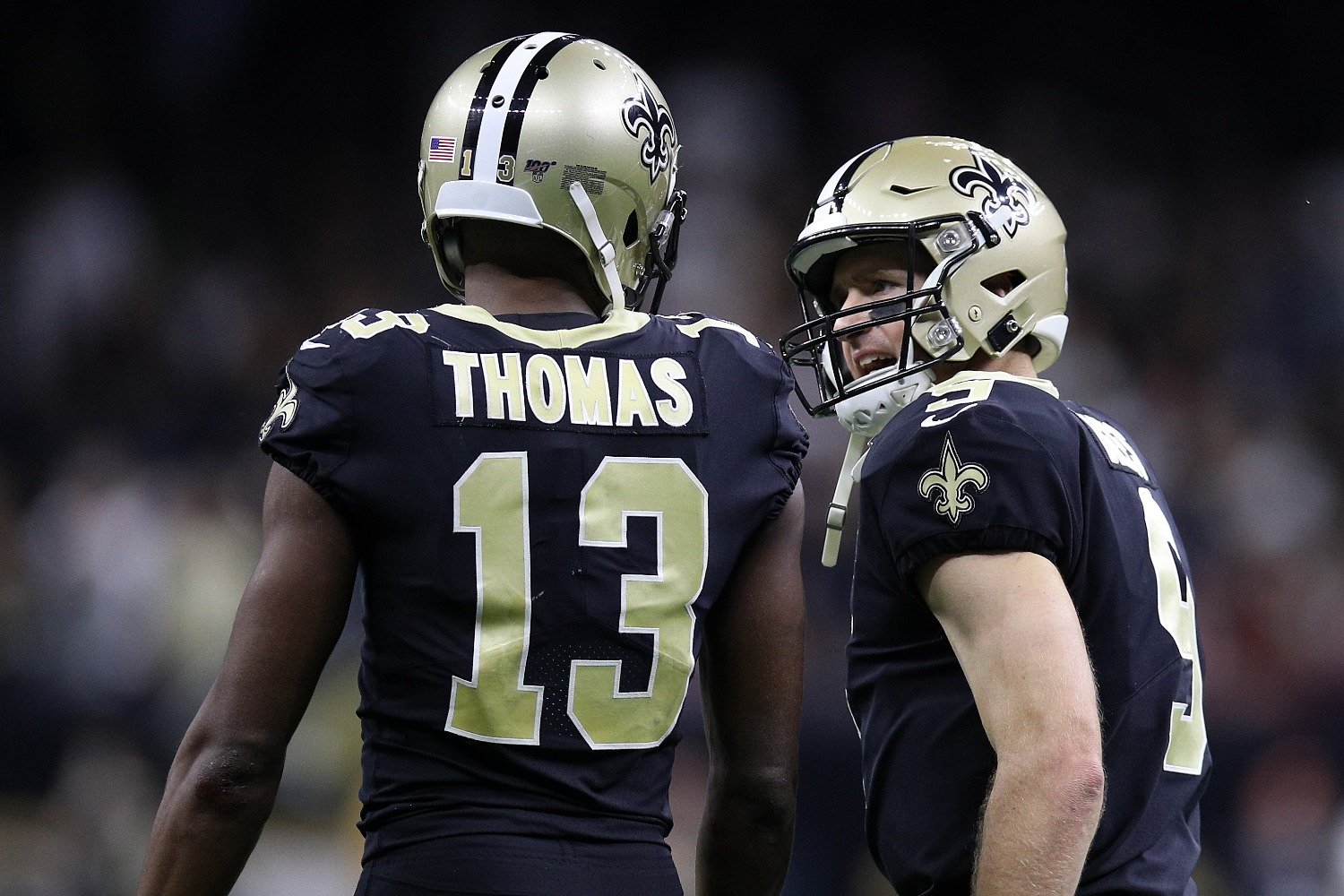 The New Orleans Saints just lost Michael Thomas for at least a few weeks due to an ankle injury.