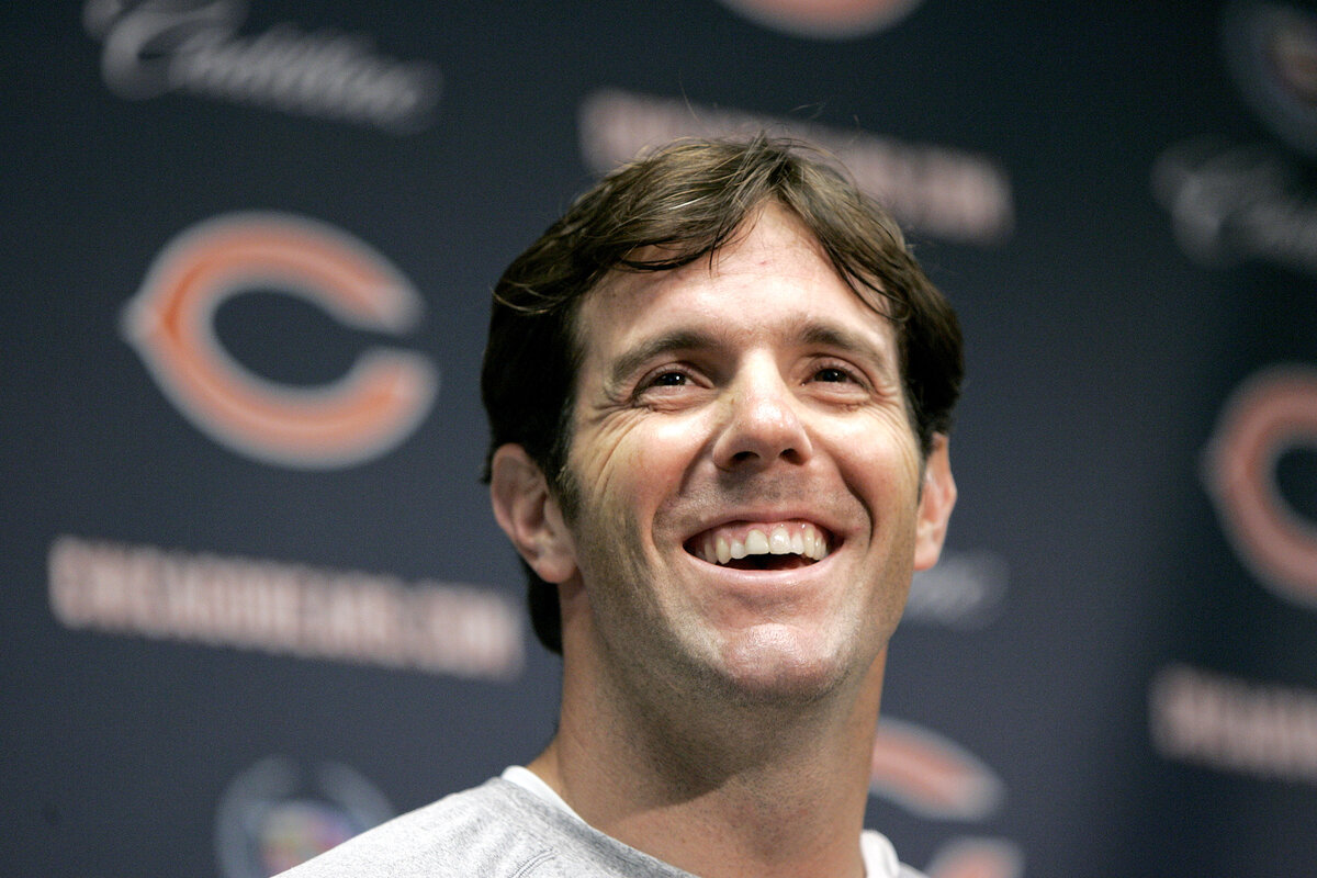 Former Chicago Bears quarterback Brian Griese will now appear on 'Monday Night Football.'