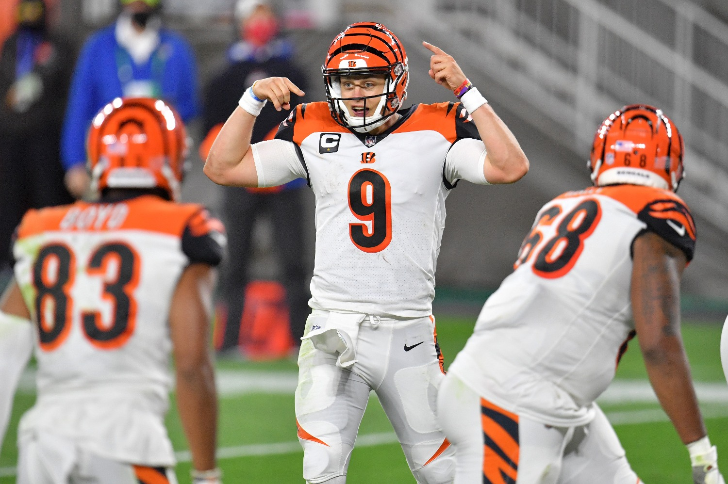 Joe Burrow and the Cincinnati Bengals lost starting TE C.J. Uzomah to a season-ending injury in Thursday night's loss to the Browns.