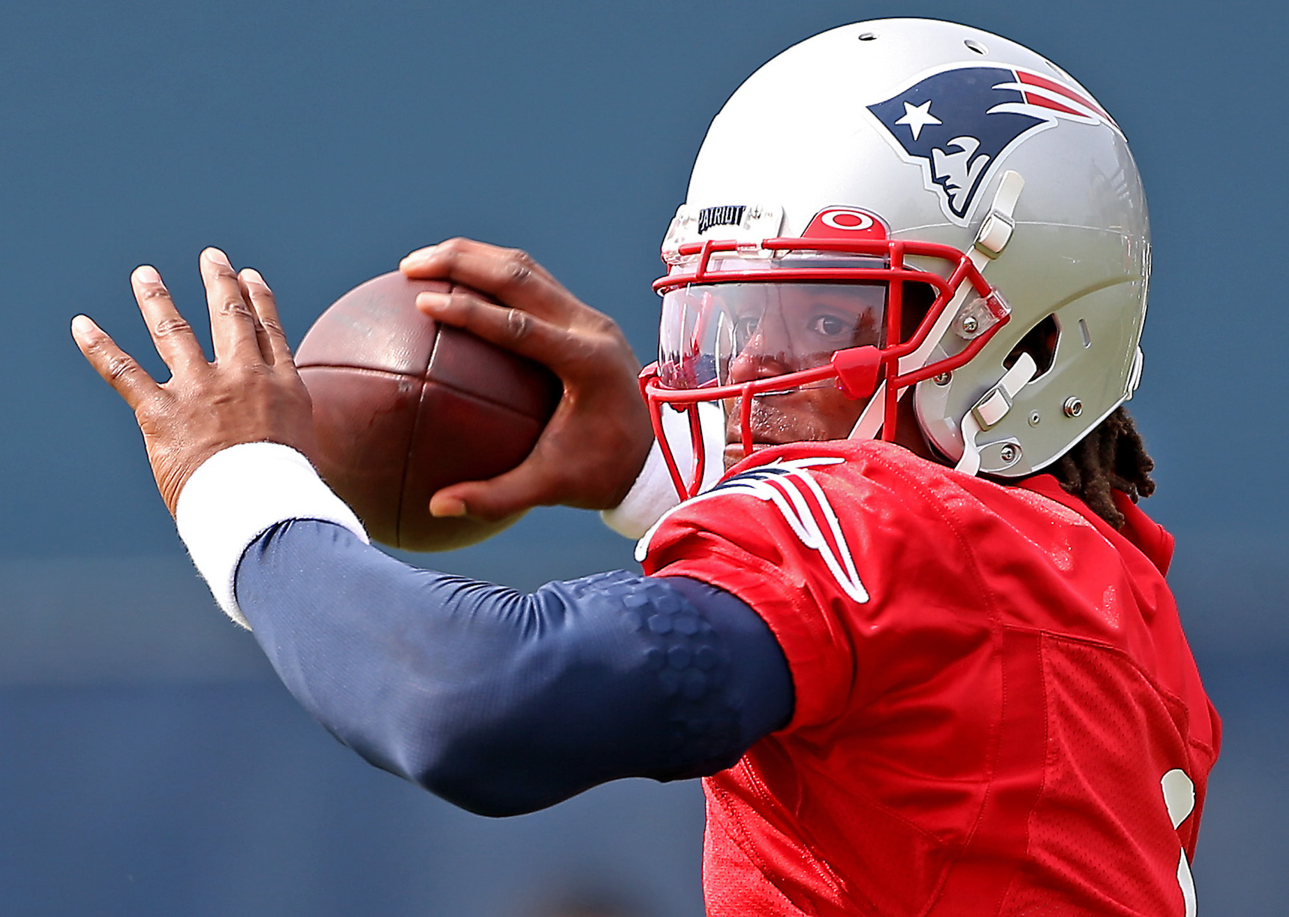 Shannon Sharpe believes that the New England Patriots are better off with Cam Newton than Tom Brady.