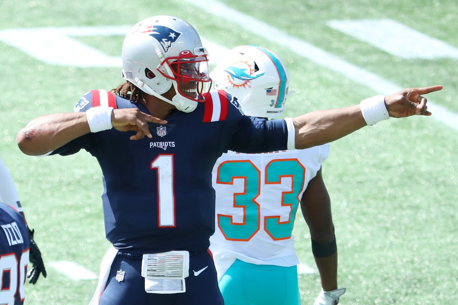 The New England Patriots sent a terrifying message to the rest of the NFL that their dynasty is far from over as long as Cam Newton stays healthy.
