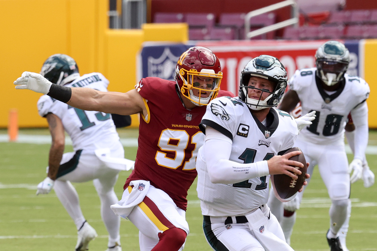 Carson Wentz's downfalls in Week 1 proved, once again, that he won't lead the Eagles to a Super Bowl title.